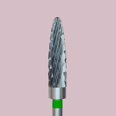 Frez karbidowy zielony, rozmiar 040