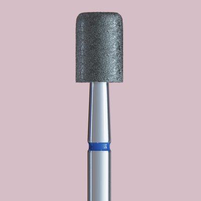 Frez z niebieskim paskiem z zaokrąglonymi brzegami