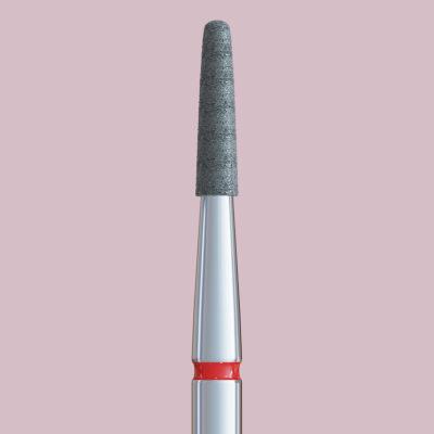 Frez z czerwonym paskiem zaokrąglony stożek rozmiar 18