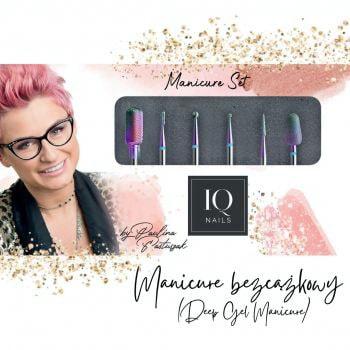 Zestaw frezów do manicure bezcążkowego by Paulina Pastuszak