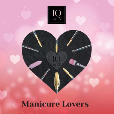 Manicure Lovers Ultra Fast zestaw frezów do skórek i szybkiego zdejmowania hybrydy, żelu akrylu